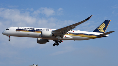 A picture of 9VSJB - Airbus A350941 - Singapore Airlines - © Rocky Wang