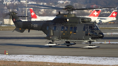 T-319 - Aérospatiale AS 332 Super Puma - Switzerland - Air Force