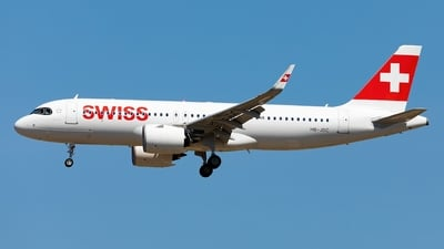 A picture of HBJDC - Airbus A320271N - Swiss - © OliverHendrich