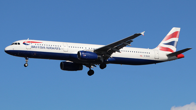 A picture of GEUXC - Airbus A321231 - British Airways - © Ferenc Kolos