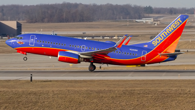 A picture of N281WN - Boeing 7377H4 - Southwest Airlines - © Jeremy D. Dando