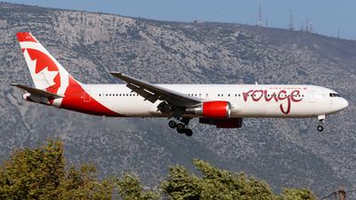 C-FJZK - Boeing 767-3Q8(ER) - Air Canada Rouge