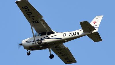 B-70A6 - Cessna 172S Skyhawk SP - Civil Aviation Flight University of China