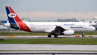 7O-AFB - Airbus A320-232 - Yemenia - Yemen Airways