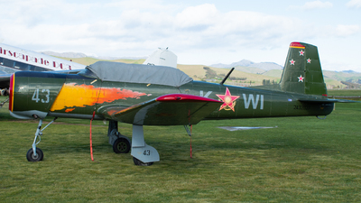 ZK-KWI - Nanchang CJ-6 - Private