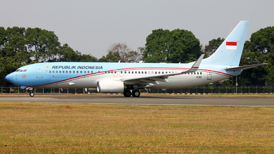 A-001 - Boeing 737-8U3(BBJ2) - Indonesia - Air Force