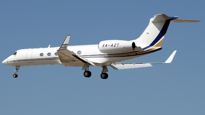 XA-AZT - Gulfstream G-V - Private