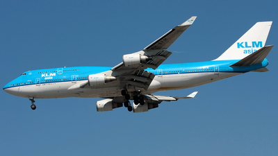 PH-BFM - Boeing 747-406(M) - KLM Asia