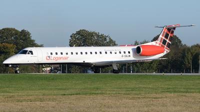 G-SAJN - Embraer ERJ-145EP - Loganair