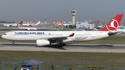 TC-JNM - Airbus A330-343 - Turkish Airlines