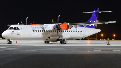 OY-JZF - ATR 72-212A(600) - Scandinavian Airlines (Jettime)