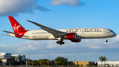 G-VNYL - Boeing 787-9 Dreamliner - Virgin Atlantic Airways