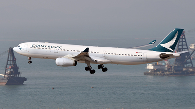 B-HLM - Airbus A330-343 - Cathay Pacific Airways