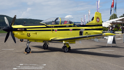 C-407 - Pilatus PC-9 - Switzerland - Air Force
