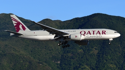 A picture of A7BFQ - Boeing 777F - Qatar Airways - © Abram Chan - AirTeamImages