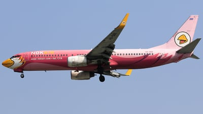 A picture of HSDBE - Boeing 73783N - Nok Air - © Quang Huy