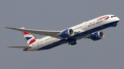 A picture of GZBKI - Boeing 7879 Dreamliner - British Airways - © Paul Spijkers