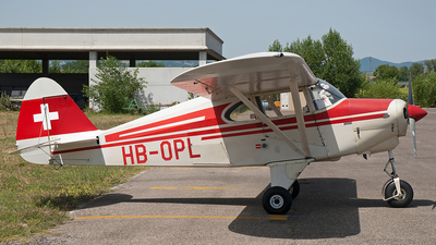 HB-OPL - Piper PA-22-150 Tri-Pacer - Private