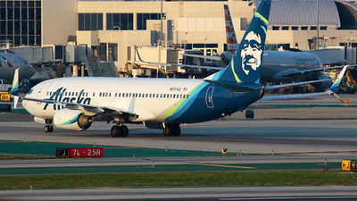 A picture of N517AS - Boeing 737890 - Alaska Airlines - © Angel Natal