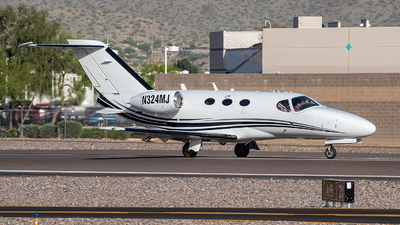 N324MJ - Cessna 510 Citation Mustang - Private