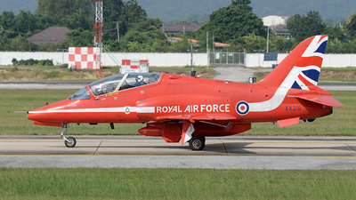XX219 - British Aerospace Hawk T.1A - United Kingdom - Royal Air Force (RAF)