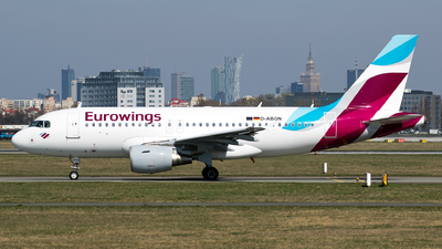 D-ABGN - Airbus A319-112 - Eurowings