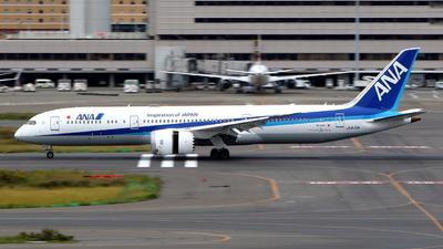 A picture of JA872A - Boeing 7879 Dreamliner - All Nippon Airways - © kouyagi