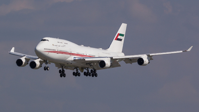 A6-MMM - Boeing 747-422 - United Arab Emirates - Dubai Air Wing