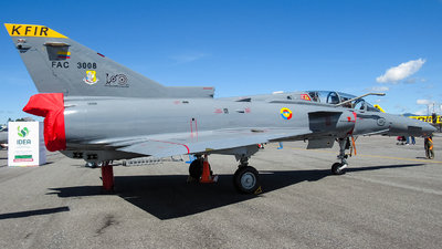FAC3008 - IAI Kfir TC12 - Colombia - Air Force