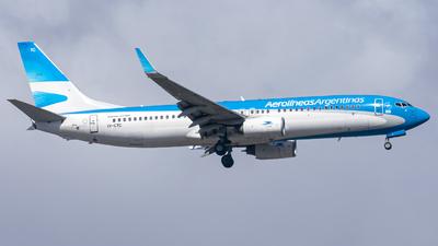 LV-CTC - Boeing 737-86J - Aerolíneas Argentinas