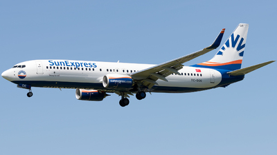 TC-SOE - Boeing 737-800 - SunExpress