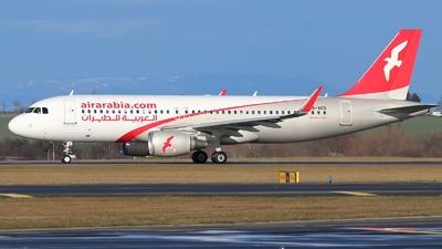 A picture of A6AOO - Airbus A320214 - Air Arabia - © AL-Alan Lebeda