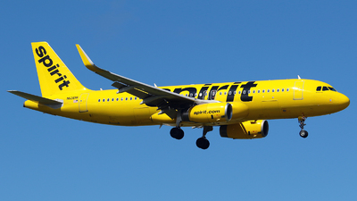 A picture of N626NK - Airbus A320232 - Spirit Airlines - © Angel Natal