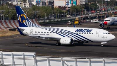XA-UQX - Boeing 737-33A - Magnicharters