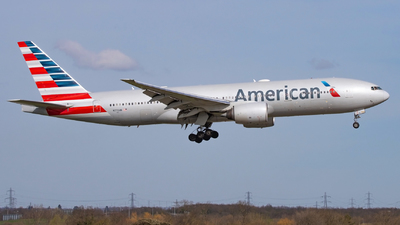 A picture of N772AN - Boeing 777223(ER) - American Airlines - © William Bradley