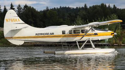 A picture of N765KA - De Havilland Canada DHC3T Vazar Turbine Otter - Kenmore Air - © Ethan Peters