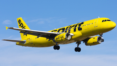 A picture of N614NK - Airbus A320232 - Spirit Airlines - © Wes B
