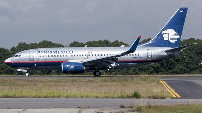N842AM - Boeing 737-752 - Aeromexico