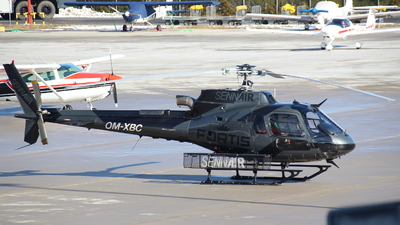 OM-XBC - Eurocopter AS 350B3 Ecureuil - Sennair