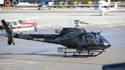 OM-XBC - Eurocopter AS 350B3 Ecureuil - Sennair