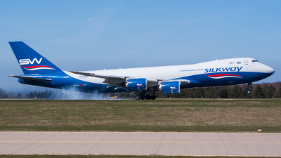VQ-BBM - Boeing 747-83QF - Silk Way Airlines
