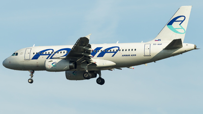 S5-AAP - Airbus A319-132 - Adria Airways