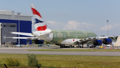 F-WWSM - Airbus A380-861 - British Airways