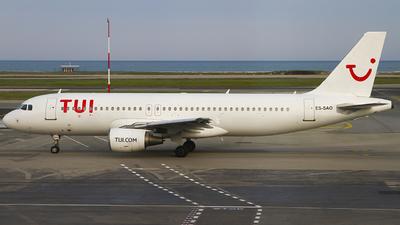 ES-SAO - Airbus A320-214 - TUI (Smartlynx Estonia)