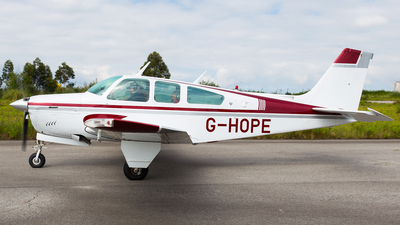 G-HOPE - Beechcraft F33A Bonanza - Private