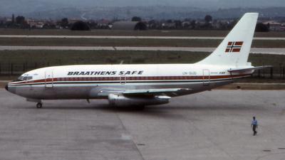 LN-SUD - Boeing 737-205(Adv) - Braathens SAFE
