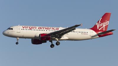 N635VA - Airbus A320-214 - Virgin America