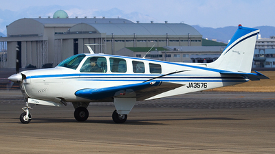 JA3576 - Beechcraft A36 Bonanza - Private