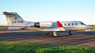 LV-FKB - Bombardier Learjet 31A - Pacific Ocean Private Flights