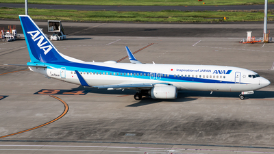 JA70AN - Boeing 737-881 - All Nippon Airways (ANA)